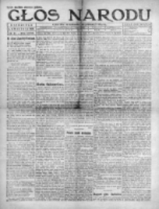 Głos Narodu 1920, Nr 83