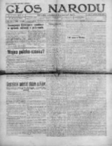 Głos Narodu 1920, Nr 116