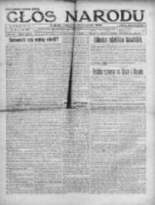 Głos Narodu 1920, Nr 122