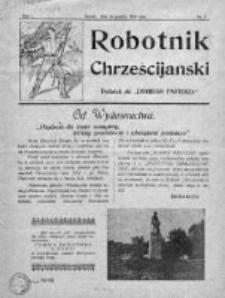 Robotnik Chrześcijański 1929-1930
