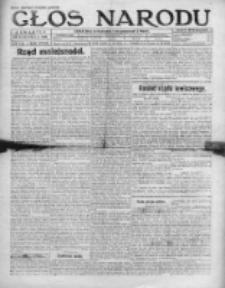 Głos Narodu 1920, Nr 148