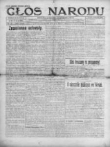 Głos Narodu 1920, Nr 158