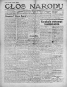 Głos Narodu 1920, Nr 192