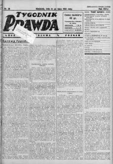 Tygodnik Prawda 24 lipiec 1932 nr 30
