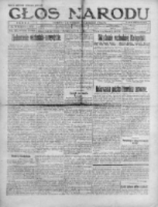 Głos Narodu 1920, Nr 225