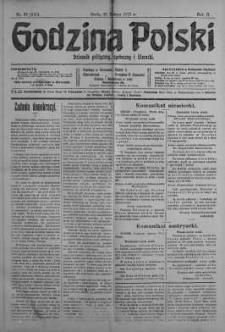 Godzina Polski : dziennik polityczny, społeczny i literacki 21 luty 1917 nr 50