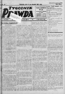 Tygodnik Prawda 21 sierpień 1932 nr 34