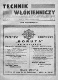 Technik Włókienniczy 1934, Nr 5-6