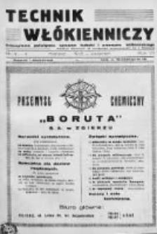 Technik Włókienniczy 1935, Nr 3-4