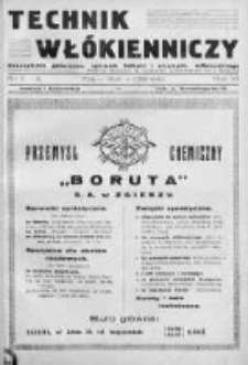 Technik Włókienniczy 1935, Nr 5-6