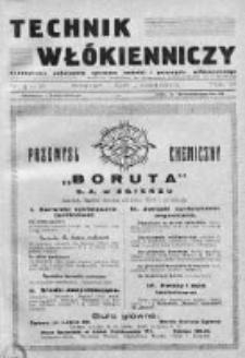 Technik Włókienniczy 1935, Nr 9-10