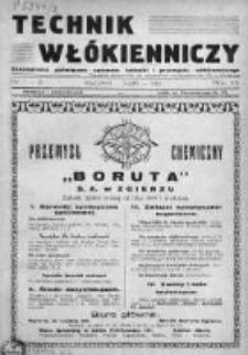 Technik Włókienniczy 1936, Nr 1-2