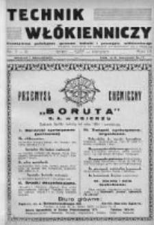 Technik Włókienniczy 1937, Nr 7-8