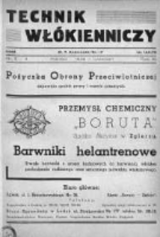 Technik Włókienniczy 1939, Nr 3-4