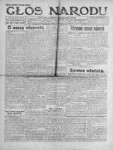 Głos Narodu 1920, Nr 250