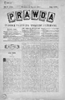 Prawda. Tygodnik polityczny, społeczny i literacki 1906, Nr 2
