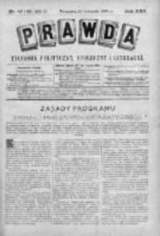 Prawda. Tygodnik polityczny, społeczny i literacki 1905, Nr 43-44