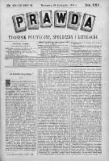Prawda. Tygodnik polityczny, społeczny i literacki 1905, Nr 45-46
