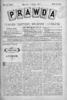 Prawda. Tygodnik polityczny, społeczny i literacki 1907, Nr 11