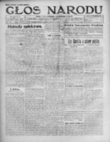 Głos Narodu 1920, Nr 281