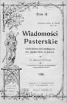 Wiadomości Pasterskie Tom II, 1906, Nr 1