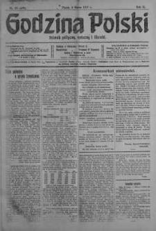 Godzina Polski : dziennik polityczny, społeczny i literacki 2 marzec 1917 nr 59