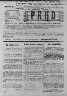 Prąd : dziennik polityczny, społeczny, ekonomiczny i literacki 7 grudzień R. 5. 1914 nr 2