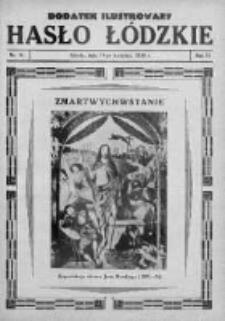 Dodatek Ilustrowany. Hasło Łódzkie 1930, R.4, Nr 16