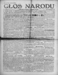 Głos Narodu 1921, Nr 109