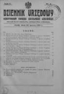 Dziennik Urzędowy Kuratorium Okręgu Szkolnego Łódzkiego: organ Rady Szkolnej Okręgowej Łódzkiej 20 marzec 1931 nr 3
