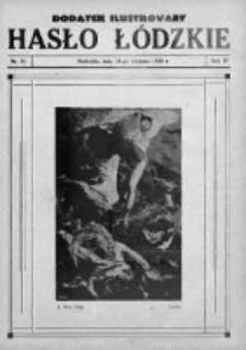 Dodatek Ilustrowany. Hasło Łódzkie 1930, R.4, Nr 32