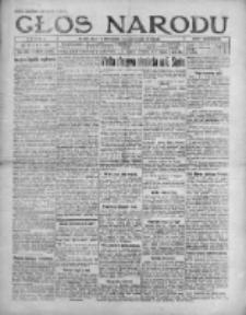Głos Narodu 1921, Nr 116