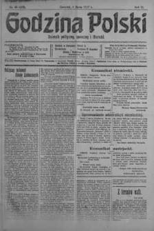 Godzina Polski : dziennik polityczny, społeczny i literacki 8 marzec 1917 nr 65