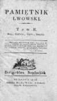 Pamiętnik Lwowski 1816, T.2, Nr 5