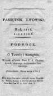 Pamiętnik Lwowski 1816, T.2, Nr 8