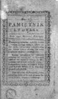 Pamiętnik Lwowski 1817, T.4, Nr 13