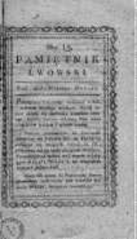 Pamiętnik Lwowski 1817, T.4, Nr 15