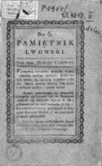 Pamiętnik Lwowski 1818, T.2, Nr 6