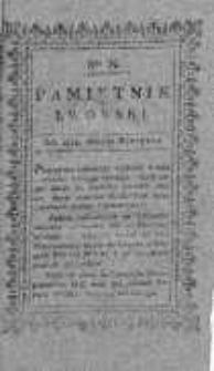 Pamiętnik Lwowski 1819, T.2, Nr 8