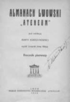 "Almanach Lwowski ""Ateneum"" 1928"