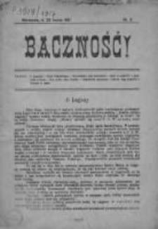 Baczność ! 1917, Nr 2