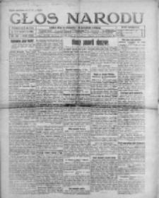Głos Narodu 1921, Nr 126