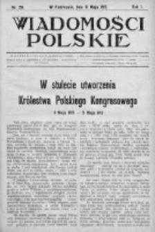 Wiadomości Polskie 1 1914-1915, Nr 29