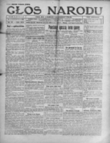 Głos Narodu 1921, Nr 137