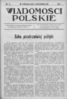 Wiadomości Polskie 1 1914-1915, Nr 47