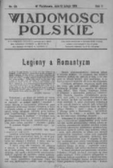 Wiadomości Polskie 2 1915-1916, Nr 63
