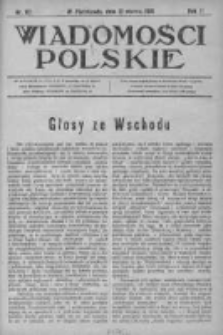 Wiadomości Polskie 2 1915-1916, Nr 67