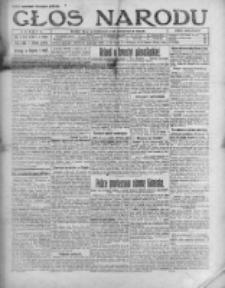 Głos Narodu 1921, Nr 142