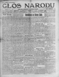 Głos Narodu 1921, Nr 145