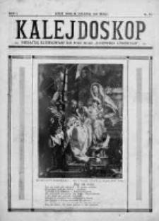 """Kalejdoskop. Dodatek ilustrowany do """"Dziennika Łódzkiego"""" 1931, R. 1, Nr 13"""